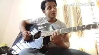 Tere naam hamne kiya hai Guitar tabs with karaoke track full song