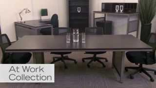 Contemporary Conference Table | Nbf At Work | National Business Furniture