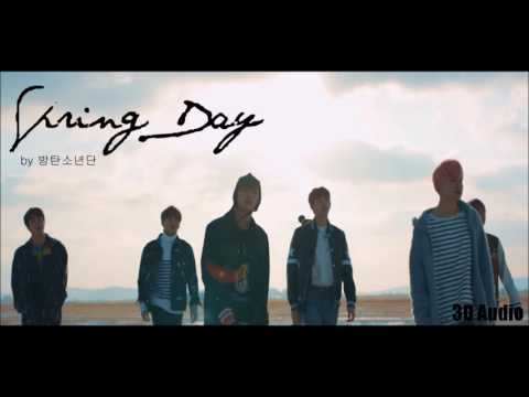 [3D Audio] BTS - 'Spring Day' (USE HEADPHONES)