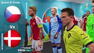 PES 2021, EURO 2020 quarti di finale • Repubblica Ceca vs Danimarca