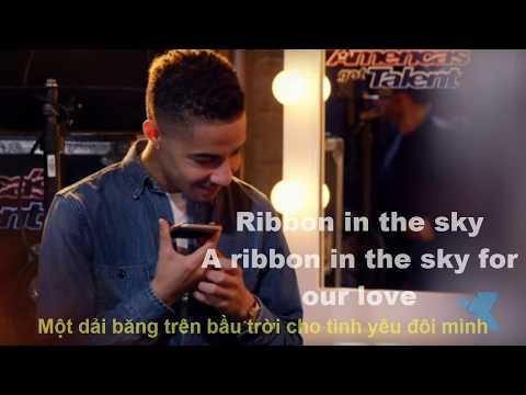 [vietsub][Engsub] Brandon Rogers: Ribbon In The Sky | music cover|LYRICS - America's Got Talent 2017