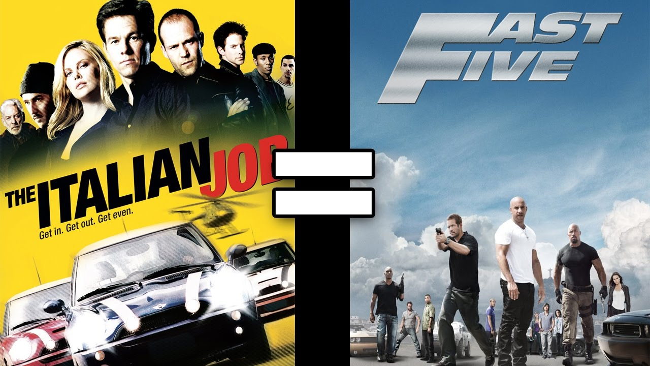 24 Reasons The Italian Job Fast Five Are The Same Movie Youtube
