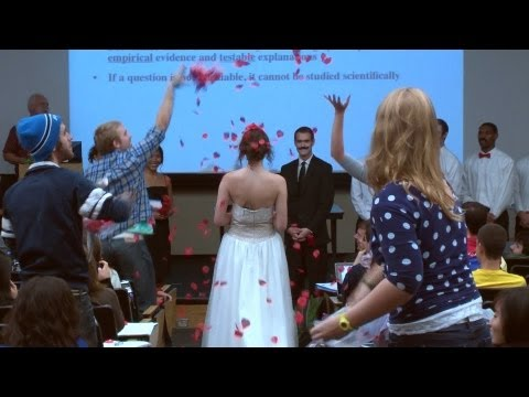 Wedding Interrupts Lecture (A Cappella Group) University of