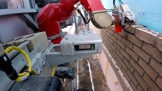 SAM, el robot que pone ladrillos seis veces más rápido que un albañil