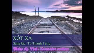 """[ Karaoke ] """"Xót xa """"/ Tô Thanh Tùng //Beat chuẩn HD /*(mp4 )."""