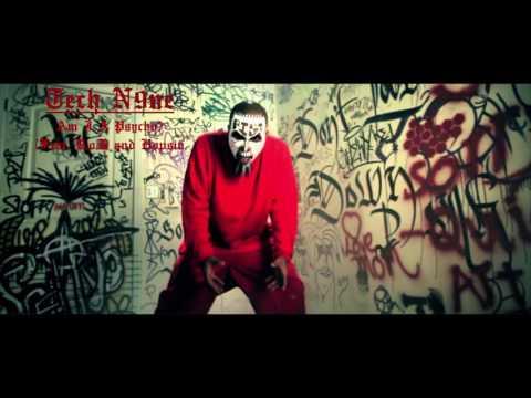 Am I a Psycho - Tech N9ne (ft. Hopsin & B.o.B) (Lyrics in description)