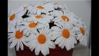 Вязаные цветы|Подборка для вдохновения|Вязание крючком