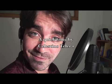 """Gently,F"" [live Vocals+keys] - Celestino Telera"