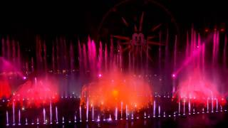 world of color officially opens at disney california adventure park