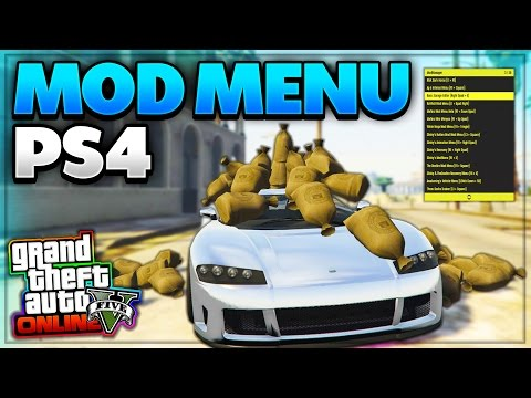 How To Install GTA 5 Mod Menus on ALL Consoles! (PS4, PS3, Xbox One