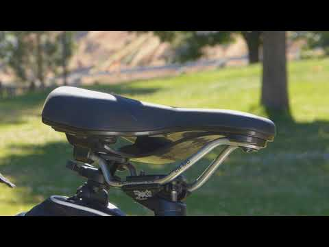 CHALLENGER Comfort Mountain Bike saddle by RideOut Technologies