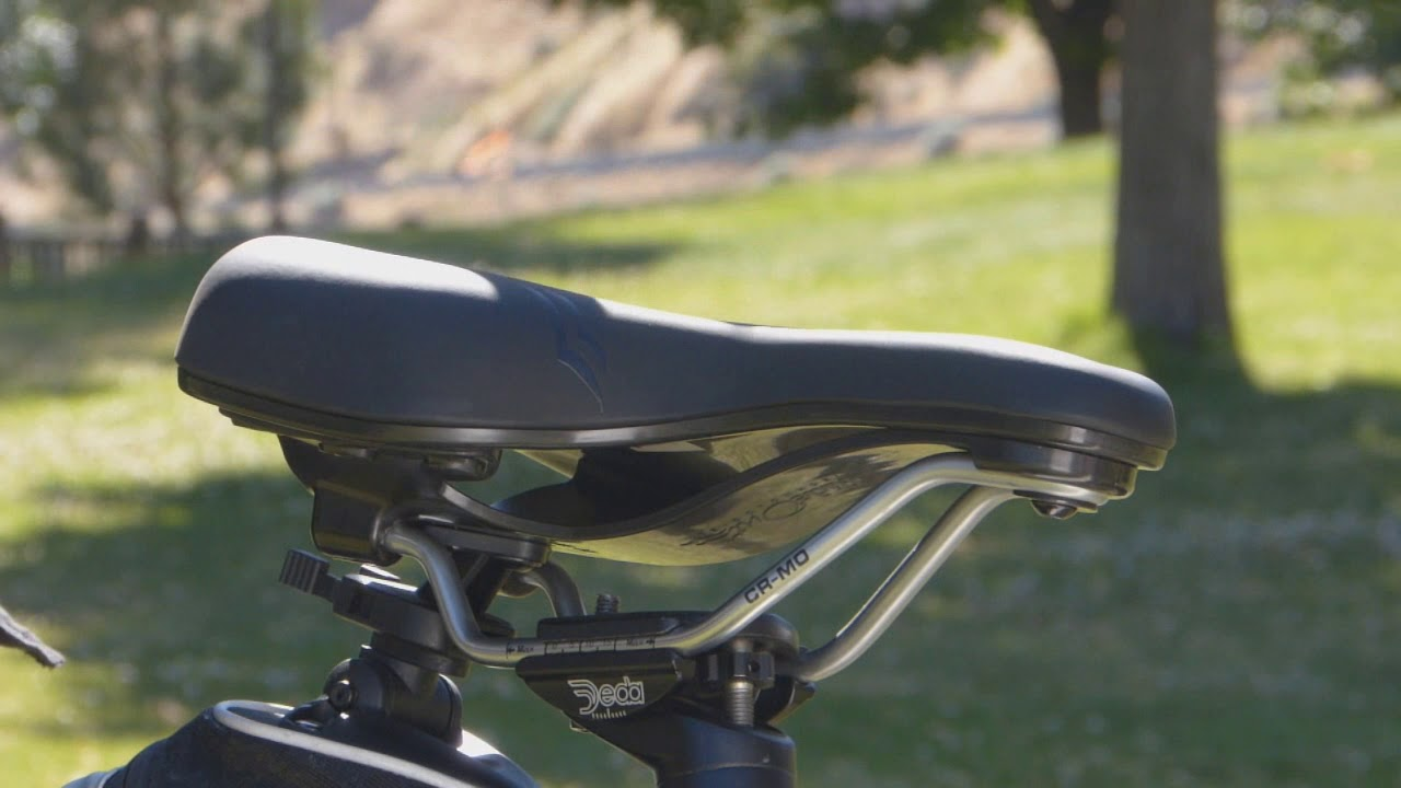 Challenger Comfort Mountain Bike Seat By Rideout Technologies