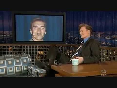 "George Bush & Arnold Schwarzenegger ""Via Satellite"" - 4/14/06"