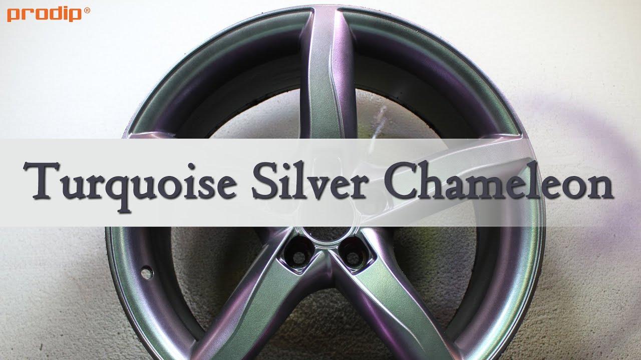 Turquoise Silver Chameleon Plasti Dip How To Spray