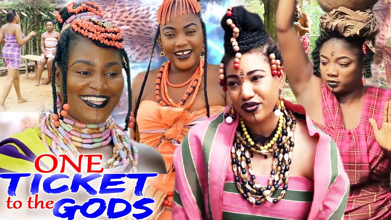Download ONE TICKET TO THE GODS SEASON 3&4 NEW MOVIE - CHIZZY ALICHI 2021 TRENDING NIGERIAN NOLLYWOOD MOVIE