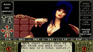 Elvira: Mistress of the Dark Longplay (Amiga) [50 FPS]