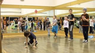 Брейк-данс дети. учим танец