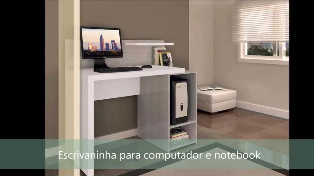 Modelos de mesa para computador youtube for Mesas de escritorio modernas
