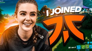 I Joined FNATIC