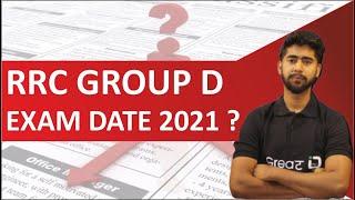Group D Exam Date ? II Group D Exam Date 2021   कब होगा Railway Group D Exam  RRC Group D News