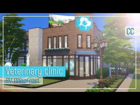 The Sims 4: Строительство | Ветеринарная клиника