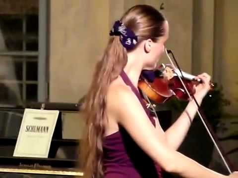 Claudia Schaer plays Bach in Barga, Italia