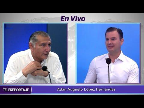 Carlos Manuel Merino no será un gobernador de 120 días: Adán Augusto López