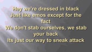 The Ninja Glare (Nigahiga) Lyrics