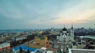 Таймлапс Воронеж с крыши(, 2014-03-18T22:04:54.000Z)