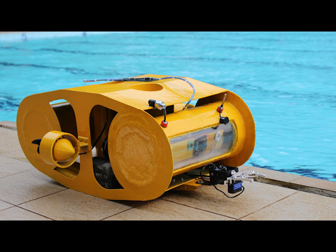 """Explorer 30"" Remotely Operated Underwater Vehicle for Marine Surveillance"