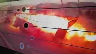 فيديو انفجار محطة وقود الحضن في السعوديه اليوم