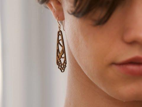 Folia Design SF - Laser-cut Wooden Jewelry