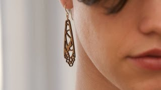 Folia Design SF - Laser-cut Wooden Jewelry