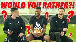 HILARIOUS WOULD YOU RATHER WITH GIGI WIJNALDUM! 😂 | Liverpool 4-0 Barcelona