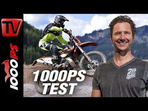 KTM EXC 2018 2-Takt Einspritzer - EXC 250 TPI und EXC 300 TPI im Test - Endurorevolution