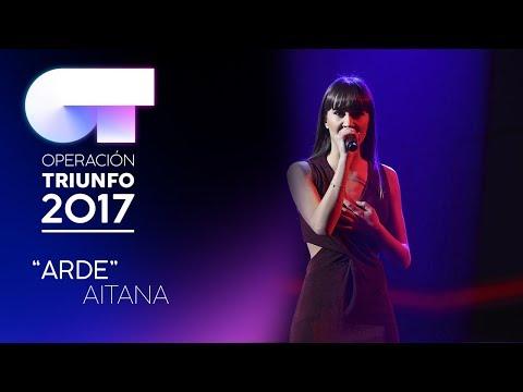 ARDE - Aitana | OT 2017 | Gala Eurovisión