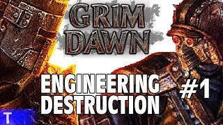 Grim Dawn #1 [Tony] : ENGINEERING DESTRUCTION | 2-Player Co-op | Let's Play Grim Dawn