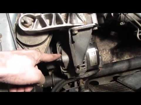 Как натянуть ремень генератора тойота камри 2002