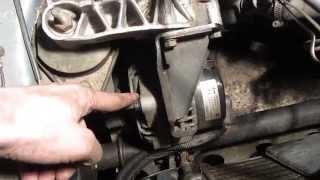 Как подтянуть или ослабить ремень генератора ВАЗ 2110, 2114, 2115