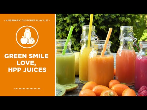 Green Smile Love - Juice HPP Process