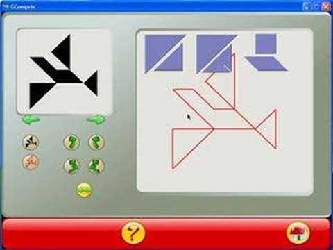 gcompris tangram