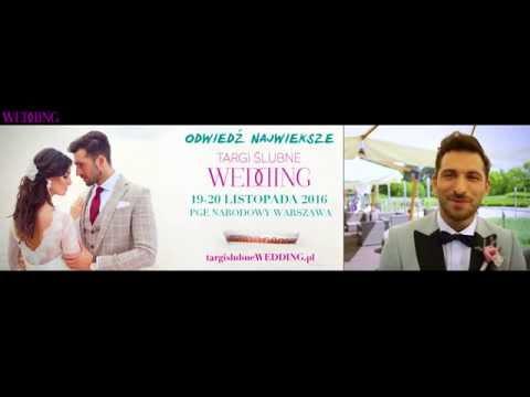 Rafał Maślak zaprasza na Targi Ślubne WEDDING