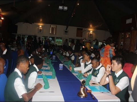 JTV NEWS UPDATE   ST  GEORGES SECONDARY SCHOOL INTERACT CLUB INDUCTED