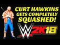 Curt Hawkins Gets Completely SQUASHED! Squash Match Compilation! WWE 2k18 Gameplay! MUST WATCH!!!