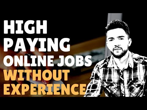 High Paying Online Jobs with No Experience 2020 | Up to $50 per Hour