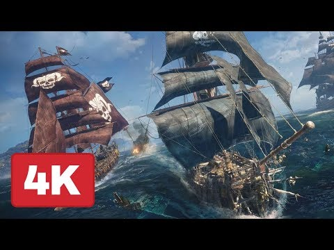 23 Minutes of Skull and Bones Gameplay in 4K – E3 2018