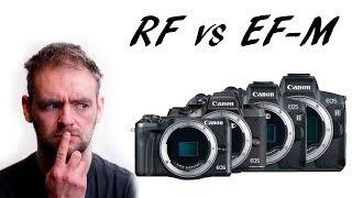 RF vs EF-M - What will Canon do in the future?