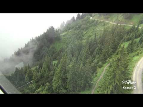 เที่ยวออสเตรีย อินสบรูค ขึ้นเทือกเขาแอลป์ Nothing on Nordketten Bahnen cable cars, Innsbruck