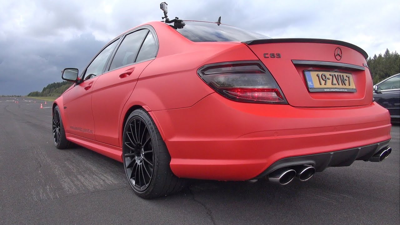 mercedes c63 amg w ipe exhaust loudest c63 ever youtube. Black Bedroom Furniture Sets. Home Design Ideas