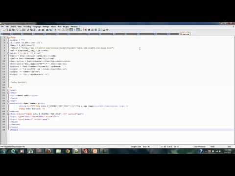 Php Rss Series Part 2 Testing script with code